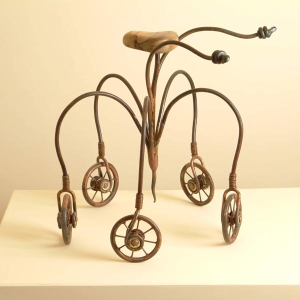 פסל אופניים- ישראל פרימו