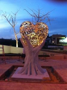 פסל הלב - ישראל פרימו