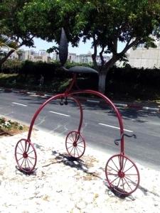 פסל אופניים, ישראל פרימו