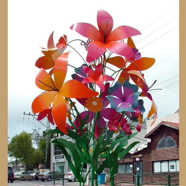 כיכר פרחים דלית אל כרמל